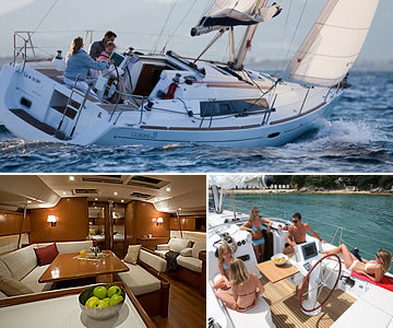 New Beneteau Oceanis Sailing Yachts for sale in the UK and