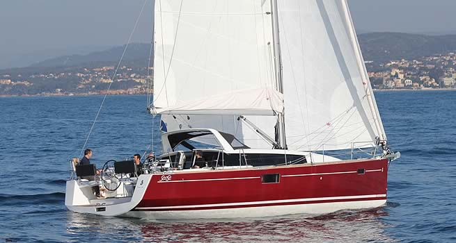 Beneteau Sense 43. Fitted with two spacious cabins forward, ...