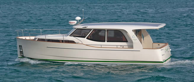 Award winning Greenline 33