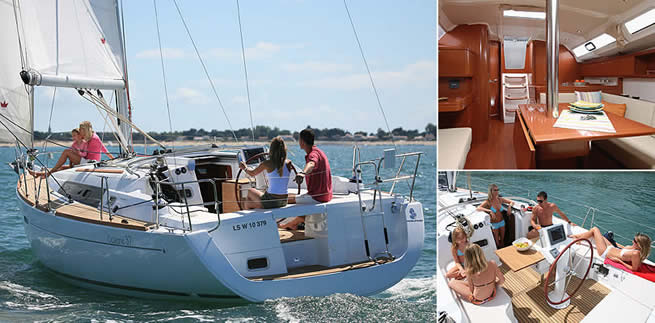Beneteau Oceanis 37 For Sale At Sunbird Yacht Sales