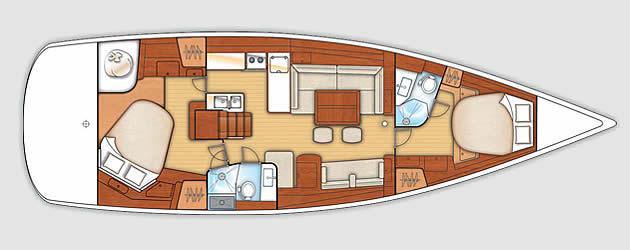 Beneteau Oceanis 50 | Istion Yachting Greece
